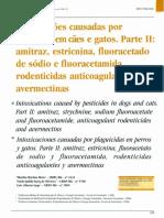 caes - envenenamento - Intoxicações causadas por Amitraz - estrecnina - ivermectina.pdf