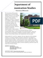 graduate program brochure