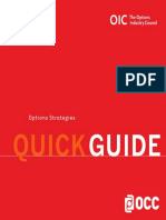 Options Strategies Quick Guide