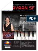 June 24, 2016 - Kalayaan SF Cecile Licad Piano Concert and Gala Reception, Philippine Independence Day Celebration