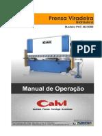 Prensa Dobradeira PVC40 2000