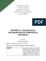 Informe1. Lab Quimica Organica..