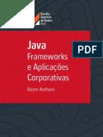 Java Frameworks e Aplicações Corporativas