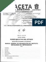 Manual General de Organización