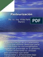 Conservacion de Alimentos Por Pasteurizacion