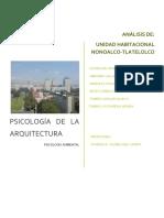 Psicología de la Arquitectura Tlatelolco