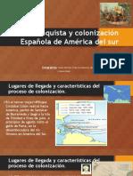 Colonizacion y Conquista de América Del Sur