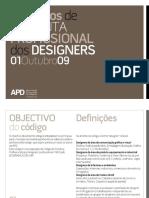 CODIGO DEONTOLÓGICOS DOS DESIGNERS DE MODA