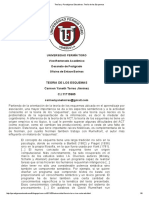 Teorías y Paradigmas Educativos_ Teoría de Los Esquemas