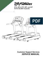 LifeFitness 97TE 95TE 95T 97T 93T Arctic Silver Service Manual