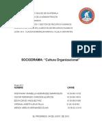 Guion-Sociodrama (Cultura Organizacional) (1)