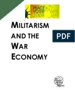 Maine Senate- Militarism