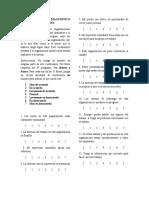 Cuestionario de Diagnóstico Organizacional