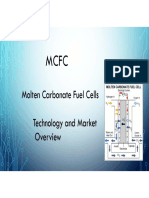 Molten Carbonate Fuel Cell Overview