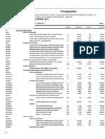 02.03 Presupuesto Red de Alcantarillado