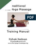 Beginner Thai Massage Manual