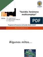 Presentacion Detección y Manejo de Intento Suicida Constitucion
