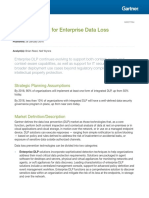 Gartner Magic Quadrant for Enterprise Data Loss Prevention 2016