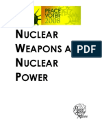 Maine Senate- Nuclear Weapons & Power