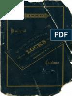Wilson Bohannan Locks Catalog - 1880