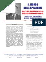 Il mondo delle Apparenze - Notiziario - Marco Todeschini