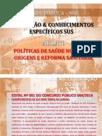 Polc3adticas de Sac3bade No Brasil