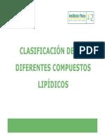 diferentes compuestos lipidicos
