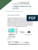 Práctica 3. Taller Interacción de Arduino Con PCs