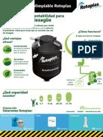 Manual de Producto de biodigesto rotoplast