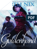 Goldenhand by Garth Nix - excerpt