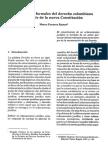 4 Las Fuentes Formales Del Derecho Colombiano