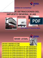 Detracciones en el Peru