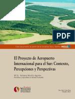 Aeropuerto Del Sur Proyecto Octubre 2012