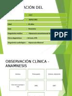 Caso Clinico Audicion