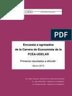 Encuesta Egresados Economistas - Jornadas FCEA