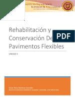 rehabilitación de pavimentos flexibles