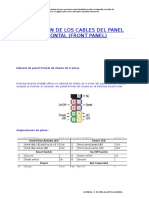 Conexión de Los Cables Del Panel Frontal