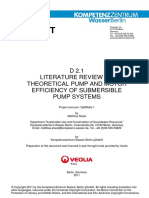 D2-1 Review Pump Efficiency 20111031 Final