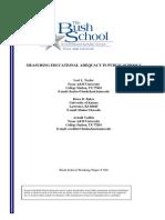 Measuring Edu Adequacy in Public Schools
