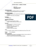 Guia Lenguaje 1basico Semana3 Consonante k Texto Instructivo Octubre 2011