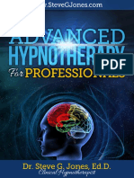 Advanced Hypnotherapy Steve g Jones eBook