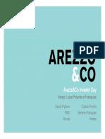 14-12-2011 - Arezzo&Co Investor Day - Apresentação Varejo