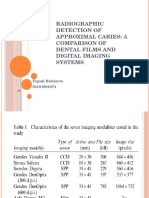 Radiographic Detection of Approximal Caries