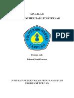 MAKALAH HERITABILITAS.docx