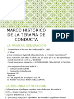 TEMA 1 MARCO HIS´TORICO DE LA TERAPIA DE CONDUCTA-1