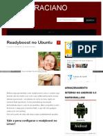 Readyboost No Ubuntu