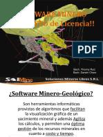 Exposicion Software Minero SolMine SRL