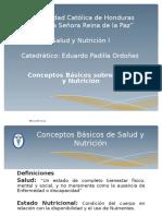 Conceptos Generales de NUTRICION