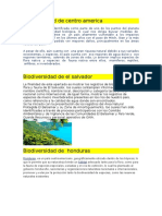 Biodiversidad de Centro America