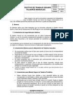 SSA-In-12 Intructivo Trabajo Taladro Manual